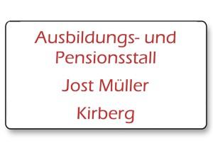 Pensionsstall Jost Müller