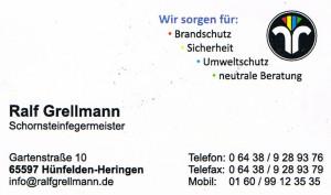 Grellmann Schornsteinfeger